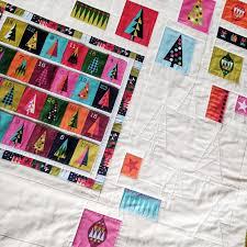 Advent Calendar Mini Quilt Free Pattern | Count down to Christmas ... & Advent Calendar Adamdwight.com