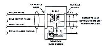 "audio isolation transformers the 3 position switch will eliminate the need to cut pin ""1″ to lift the audio ground and the connection to the shield switch positions"