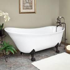 acrylic clawfoot bathtub