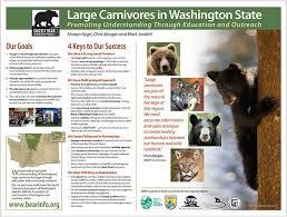 Western Wildlife Outreach Informational Poster Linn