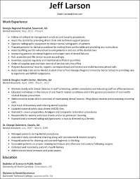 Sample Dentist Resume Cover Letter Unique Dental Examples Of