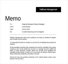 Memo Report Example Memo Report Samples Magdalene Project Org