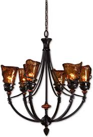 uttermost 21227 vitalia 6 light oil rubbed bronze chandelier from the vitalia collection designed by yn kinder
