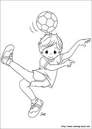 Kleurplaat Voetballer Sporten Dibujos Dibujos Para Colorear En