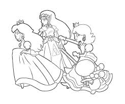 This awesome book comes with so many different pages to color! Princess Peach Coloring Pages Coloring Home