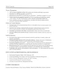 Construction Job Resume Sample By Cando Career Coaching