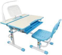 kids desk. VIVO Deluxe Height Adjustable Children\u0027s Desk \u0026 Chair Kids Interactive Work Station Blue