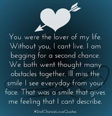 Quotes About Love Amazing Second Chance Love Quotes List Of Best 48nd Chance Relationship Sayings