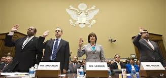 Mr. Shulman, former IRS Commissioner, blamed his predecessor.