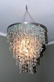 recycled ceiling lighting fixtures glass chandelier