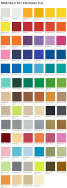 Oracal Vinyl Color Chart Pdf Anvil Market Vinyl Color Chart