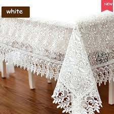 white lace round tablecloth round crocheted white diameter round design white lace tablecloths rectangle