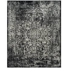safavieh evoke black gray 8 ft x 10 ft area rug