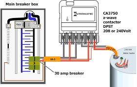 how to wire intermatic ca3750 use push on wire connectors to join wires as needed