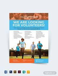 Flyer Templates Microsoft Word Volunteer Charity Flyer Flyer Template Microsoft