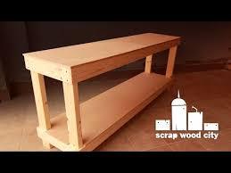 simple diy workbench you