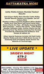 Mumbai Patti Chart Sattamatka Mobi Seo Report Seo Site Checkup
