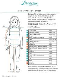 American Girl Clothes Patterns Fascinating FREE TShirt 48 Inch Doll Clothes Pattern PDF Instant Download