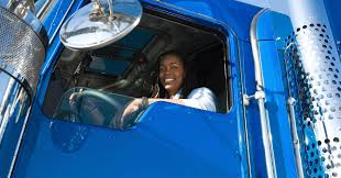 Image result for women in men profession  Trailer Driver