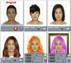 Hairstyle Simulator App have fun with your hairstyle with virtualhair from toysoft 6366 by stevesalt.us