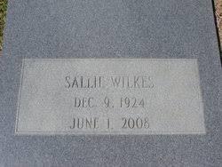 Sallie Aldrich Wilkes (1924-2008) - Find A Grave Memorial