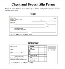 Deposit Templates Deposit Slip Template Pdf Templates Resume Examples