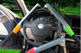 locked car. Car Steering Wheel Lock Baseball\u0027s Locked Automobile Anti-theft Self-defense