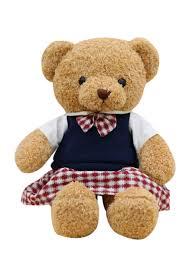 Teddy Bear Design Soft Toy Cute Cartoon Simple Teddy Bear Design Stylish Doll Plush Toy