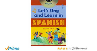 Lets Sing And Learn In Spanish Book Audio Cd Amazon Co Uk