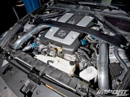 350z vs 370z import tuner magazine impp 1006 09 o 370z engine bay