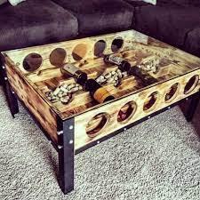 coffee table redo wine table