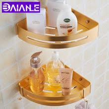 BAIANLE настенная угловая рама для ванной комнаты ...