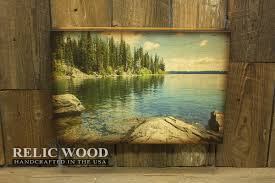 nice design ideas lake wall art modern decoration clear mountain handcrafted house district tahoe rules superior