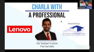"North Carolina Society of Hispanic Professionals - ""Charla with a ..."