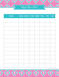 Creating A Chore Chart That Is Right For You Sarah Titus