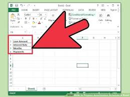 Amortization Formula Excel Balloon Loan Payment Calculator Excel