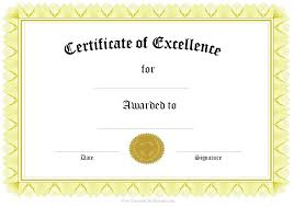 Samples Of Awards Certificates Free Certificate Templates Best School Certificates Images