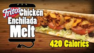 subway fritos en enchilada melt recipe
