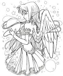 Gothic Fairies Coloring Pages Color Me Chibi Coloring Pages