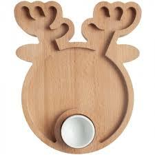 <b>Блюдо Dear Deer</b> - с логотипом: купить оптом в Москве по низким ...