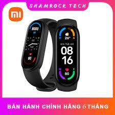 Đồng hồ thông minh Xiaomi Mi Band 6,Mi Band 5 ,Vòng đeo tay Miband 6 theo  dõi sức khỏe, luyện tập Chính Hãng Giá Rẻ - Đồng Hồ Thông Minh