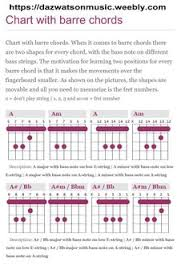 31 Best Guitar Chord Charts Images In 2019 Guitar Chord