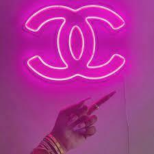Pink neon wallpaper ...