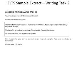 IELTS Writing Task    Two part Question with Sample Answer