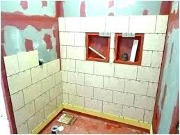 labor cost to install tile shower cost to install tile in bathroom wall tile install cost