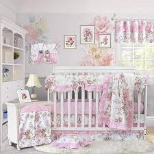 nursery baby girl bedding set