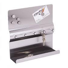 Black Magnetic Memo Board 10000in100 stainless steel key rack magnetic memo board wall mounted 78