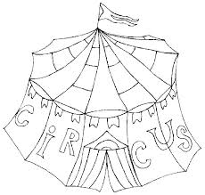tent coloring page circus coloring pages circus coloring pages printable circus tent coloring pages printable page