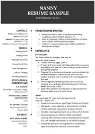 Babysitting Jobs For Highschool Students Babysitter Resume Example Writing Guide Resume Genius