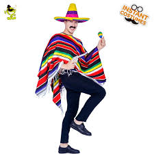 Funny Adult Unisex Mexican Cape Mens Carnival Party Fancy Dress Colorful  Cape Halloween Costume For Men Womens Costume Halloween Party Costumes From  Rykeri, ...